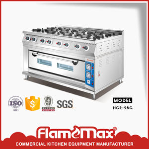 8 Burner Gas Range with Gas Oven (HGR-98G) pictures & photos