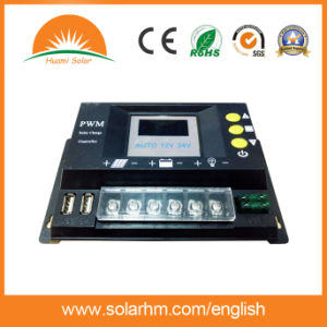 Guangzhou Factory Price 96V30A LED Screen Solar Power Controller pictures & photos