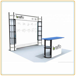 Portable Aluminum Exhibition Stand with Economic Profile pictures & photos
