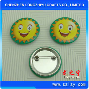 Custom Logo Price Printed Tinplate Badge Button Pin pictures & photos
