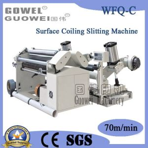Surface Coiling Slitter Rewinder for Plastic Film (WFQ-C) pictures & photos