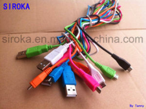 Customized Colorful Mini Mic USB Data Cable for Android Phone pictures & photos