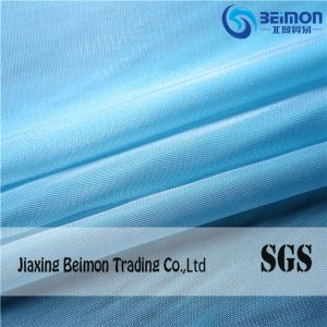 100%Polyester Soft Glossy Organza Fabric Dress Fabric pictures & photos