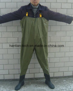 Waterproof Breathable PVC Chest Fishing Wader pictures & photos
