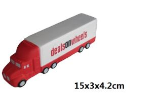 PU Foam Truck with Customer Logo pictures & photos