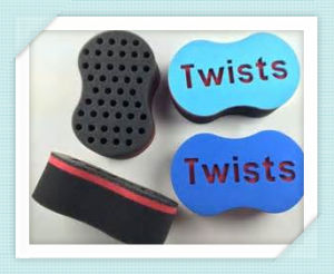 Oval Shape Holes Lock and Dread Magic Hair Twist Tools with Wave Sponge Twist Brush pictures & photos