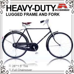 28 Inch Heavy-Duty Traditional Bicycle for Gent (AYS-2803S) pictures & photos