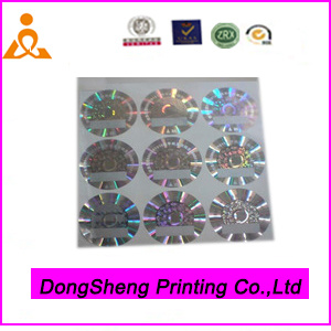 High End of Hologram Laser Anti-Counterfeiting Label Sticker