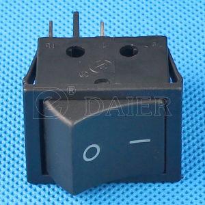 Plastic Balck Color Rocker Switch T120 Without Light pictures & photos