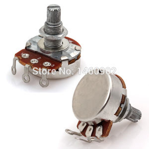 Guitar Electronic Parts 18mm Handle 24mm Full Size Guitar Pots pictures & photos