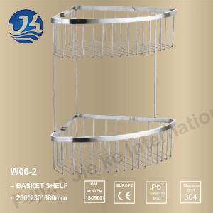 Stainless Steel Storage Rack for Bath Shower (W06-2) pictures & photos