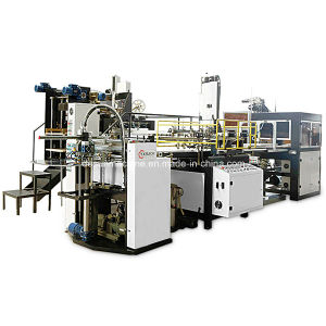 Fully Automatic Cardboard Box Making Machine (YX-6418) pictures & photos
