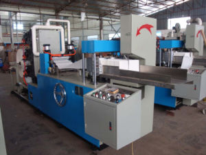 Full Automatic Multi Colors Napkin Machine, Napkin Tissue Machine Manufacturing pictures & photos