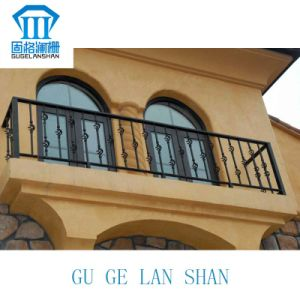 High Quality Crafted Wrought Iron Balcony 016 pictures & photos