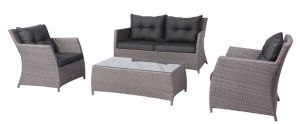 4PCS Delicate Wicker Outdoor Lounge Sofa Furniture Setting pictures & photos