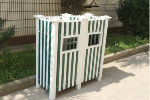 Conch Type I Garden Fence Profile Made UPVC Rubbish Bin pictures & photos