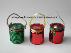 Hot Sell Portable Candle Holder Glass Candle Jar Colour Candlestick Festival Decoration&Gifts pictures & photos