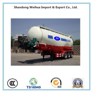 Popular 3 Axles Bulk Cement Tanker Truck Trailer From Manufacturer pictures & photos