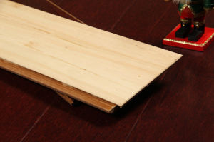 Cherry Strand Woven HDF Bamboo Flooring pictures & photos