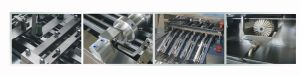 High Speed 4 Lane 2 Color Biscuit Sandwiching Machine pictures & photos