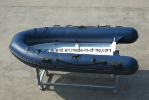 Aqualand 10feet 3m Rib Motor Boat/Rigid Inflatable Fishing Boat (RIB300) pictures & photos