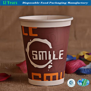 Disposable Paper Cup with Lids for Take Away pictures & photos