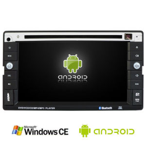 6.2inch Double DIN 2DIN Car DVD Player with Android System Ts-2014-1 pictures & photos