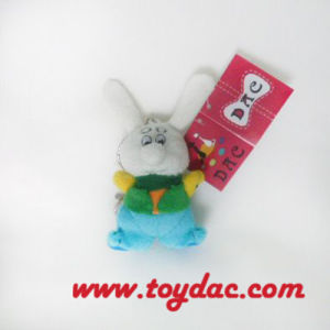 Plush Cartoon White Rabbit Key Ring pictures & photos