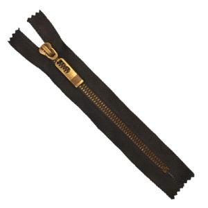 Customized Sizes #5 Plastic Zipper Close End Auto Lock Antique Teeth pictures & photos