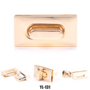 Factory Wholesale Twist Turn Lock Hardware Accessory for Bag