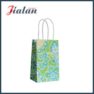 Machine Made White Craft Paper Bag pictures & photos