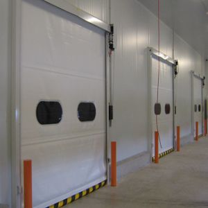 Industry High Speed Roll up Door with CE Certificate (HF-1112) pictures & photos