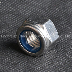 Stainless Steel Carbon Steel Nylon Lock Nuts DIN982 DIN985 pictures & photos
