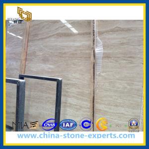 Polished White Honey Onyx Travertine Slab (YQZ-MS1014) pictures & photos