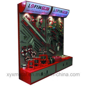 Customized Logo Steel Pegboard Power Tools Promotion Racks Display Stand pictures & photos