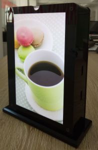Partable Phone Battery for Mobile Using Dining Table Menu pictures & photos