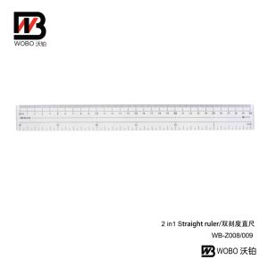 20 30cm Multifunctional Flat Plastic Ruler Office Stationery Supplies pictures & photos