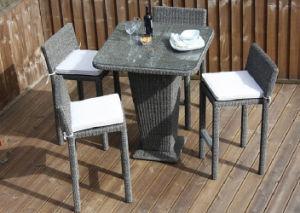 outdoor rattan garden patio wicker furniture bar stool set china outdoor rattan garden
