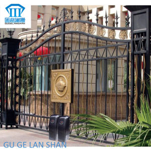 High Quality Crafted Wrought Iron Gate 041 pictures & photos