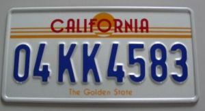 USA Car License Plate From Round Corner Sublimation Aluminum Sheets pictures & photos