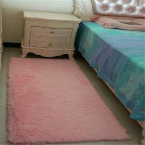 New Silk Wool Round Bedroom Rug Door Mat