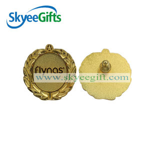 2016 China Supplier Wholesale Custom Gold Plated Metal Pin Badge pictures & photos
