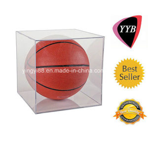 Custom Crystal Clear Acrylic Basketball Display Case pictures & photos