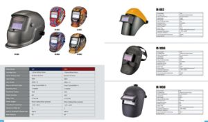 Safety Helmets Gas Welding Mask with Visor pictures & photos