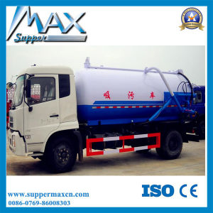 Model Customized Sinotruk 16cubic Meters Vacuum Sewage Suction Tanker Truck pictures & photos