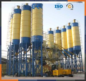 Hzs50 Small Scale Concrete Cement Concrete Mixing Plant Factory Price pictures & photos