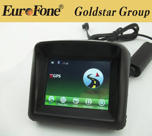 3.5 Inch Free Map Bluetooth Waterproof Motorcycle GPS Navigator pictures & photos