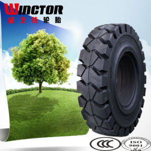 Hot Sale Easy-Fit Solid Forklift Tire 8.15-15 Click Tire pictures & photos