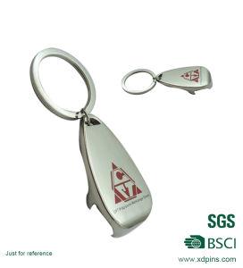 Promotion Custom Zinc Alloy Bottle Opener Keychain (XD-53) pictures & photos