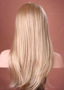 High Quality Blonde Brazilian Virgin Human Full Lace Wig pictures & photos